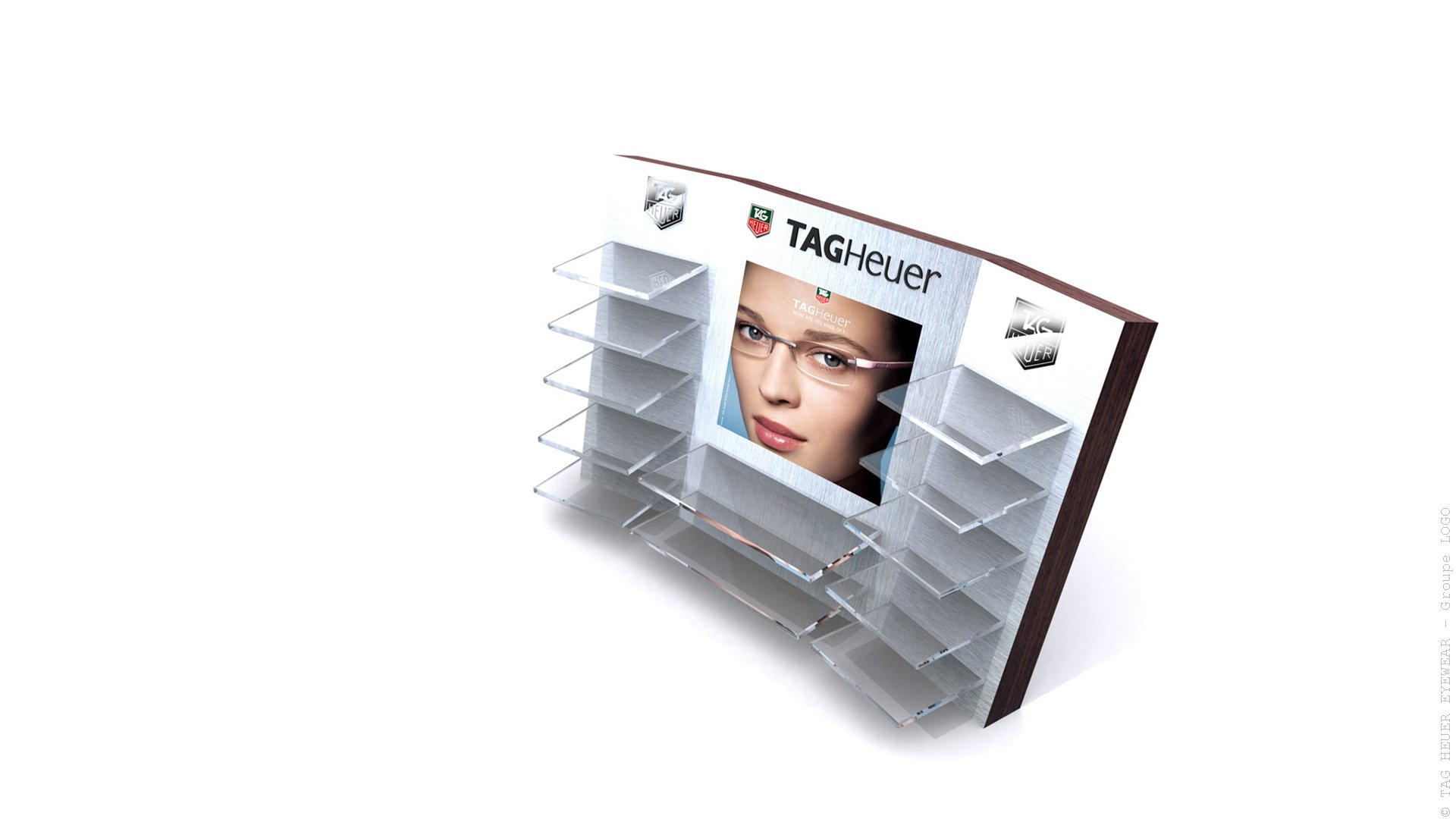 TAG Heuer eyewear- display modulable